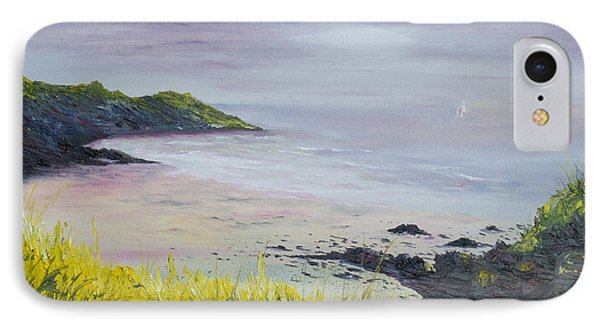 IPhone Case featuring the painting Lovers Cove Kinsale   by Conor Murphy