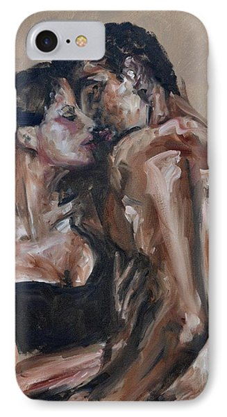 Lovers IPhone Case by Donna Tuten