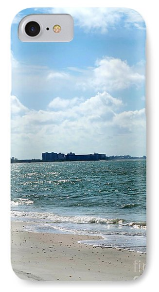 IPhone Case featuring the photograph Lovers Key Beach by Oksana Semenchenko