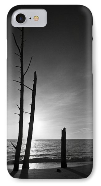 Lovers Key Sunset Black And White One IPhone Case by Bradley R Youngberg