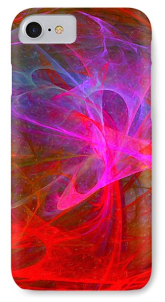 Love's Mystery #3 IPhone Case by Ann Tracy
