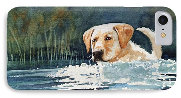 Loves The Water IPhone Case by Marilyn Jacobson