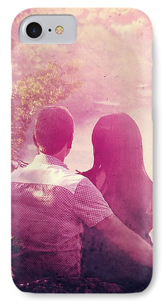 Lovestrong Phone Case by Trish Mistric