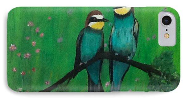 Lovey-dovey IPhone Case by Catherine Swerediuk