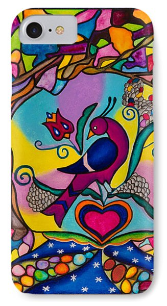 Loving The World IPhone Case by Lori Miller