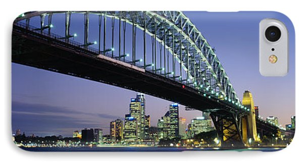 Low Angle View Of A Bridge, Sydney IPhone Case by Panoramic Images
