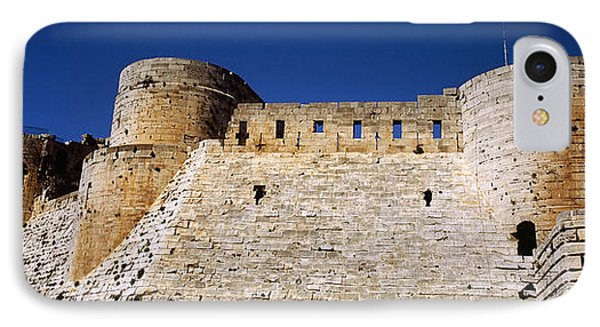 Low Angle View Of A Castle, Crac Des IPhone Case