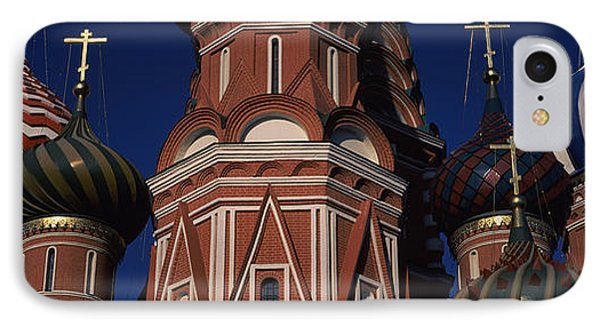 Low Angle View Of A Church, St. Basils IPhone Case by Panoramic Images