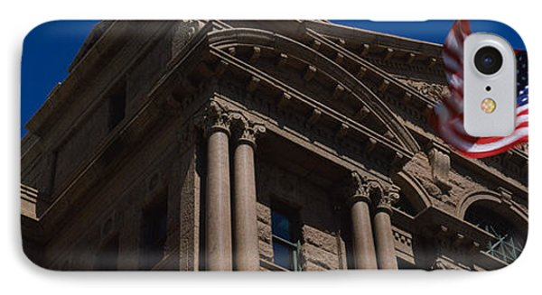 Low Angle View Of A Courthouse, Fort IPhone Case by Panoramic Images