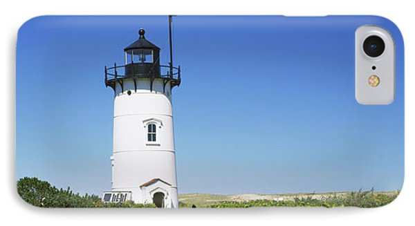 Low Angle View Of A Lighthouse, Race IPhone Case
