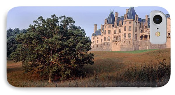 Low Angle View Of A Mansion, Biltmore IPhone Case by Panoramic Images