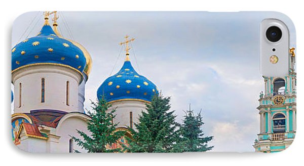 Low Angle View Of A Monastery, Trinity IPhone Case by Panoramic Images