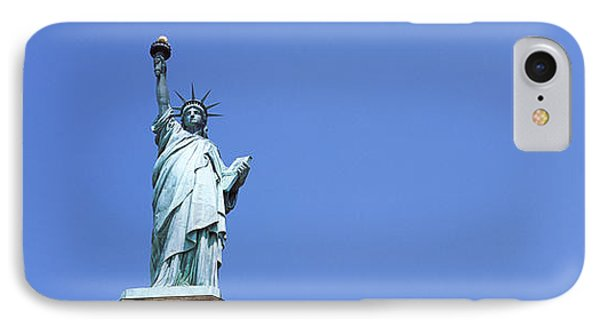 Low Angle View Of A Statue, Statue Of IPhone Case