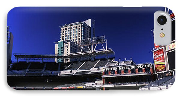 Low Angle View Of Baseball Park, Petco IPhone Case