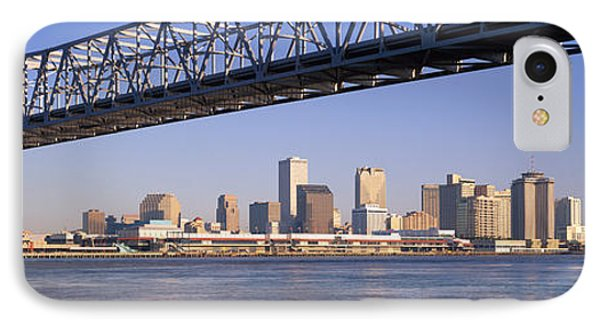 Low Angle View Of Bridges IPhone Case by Panoramic Images