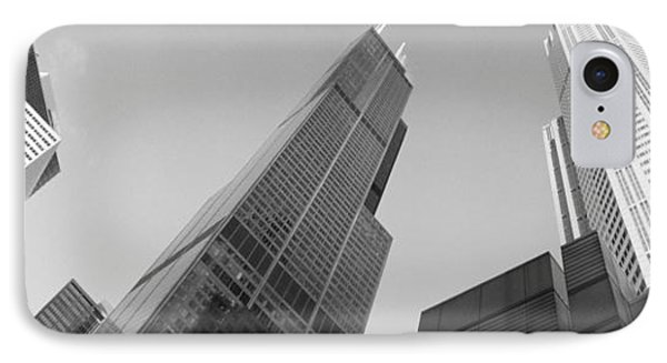 Low Angle View Of Buildings, Sears IPhone Case by Panoramic Images