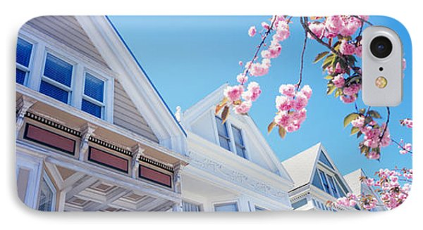 Low Angle View Of Cherry Blossom IPhone Case by Panoramic Images