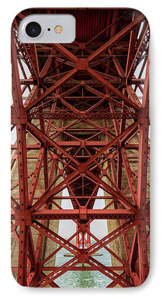 Low Angle View Of Detail Of Structure IPhone Case