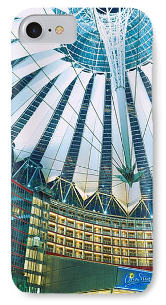 Low Angle View Of The Ceiling IPhone Case by Panoramic Images