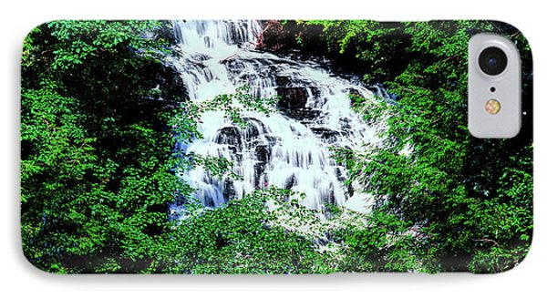 Low Angle View Of The Wolf Creek Falls IPhone Case