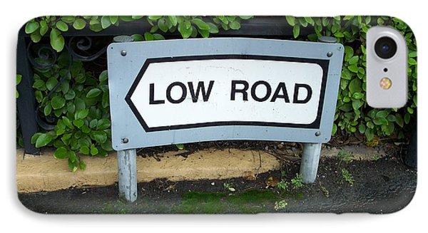 Low Road IPhone Case by Marilyn Zalatan
