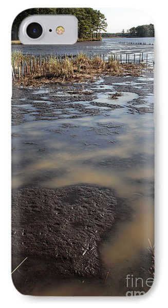Low Tide At Blackwater Wildlife Refuge In Maryland IPhone Case
