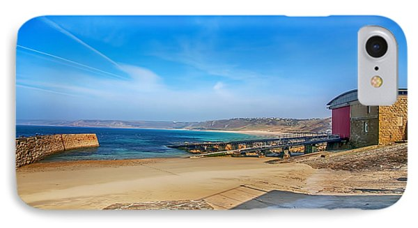 Low Tide At Sennen Cove 2 Phone Case by Chris Thaxter