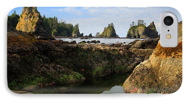 Low Tide At The Arches IPhone Case by Inge Johnsson