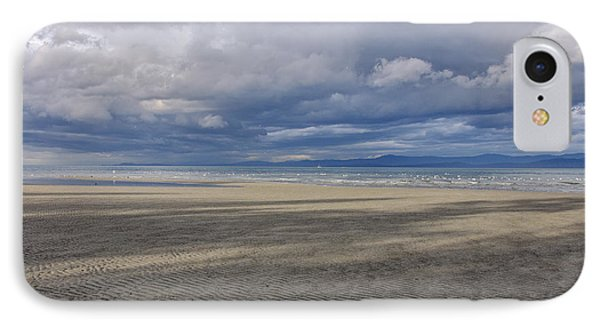 Low Tide Sandscape IPhone Case by Roxy Hurtubise