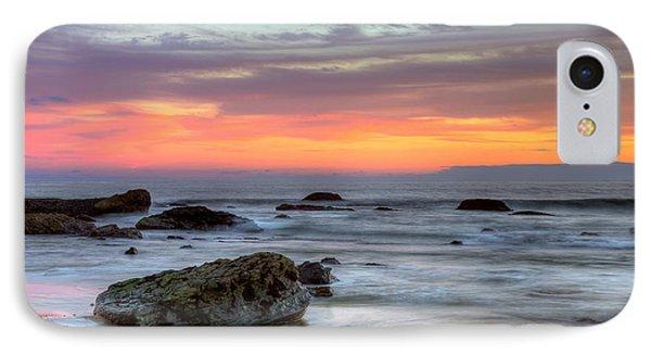 Low Tide In Newport Beach Phone Case by Eddie Yerkish