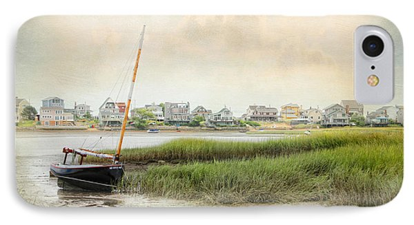 IPhone Case featuring the photograph Low Tide On The Basin by Karen Lynch