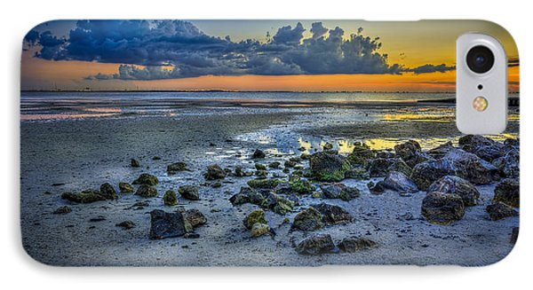 Low Tide On The Bay IPhone Case