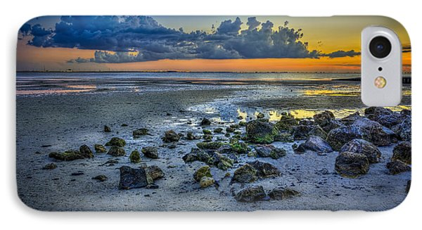 Low Tide On The Bay IPhone Case by Marvin Spates
