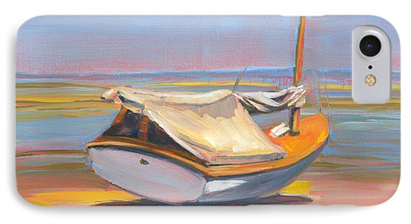 Low Tide Sailboat IPhone Case