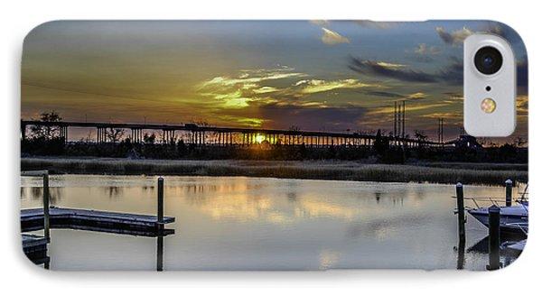 Lowcountry Marina Sunset IPhone Case