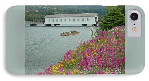IPhone Case featuring the photograph Lowell Covered Bridge by Nick  Boren