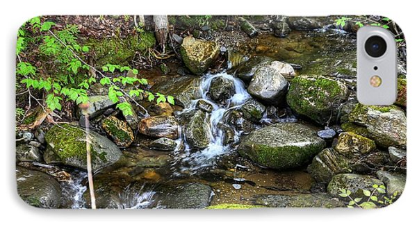 Lowell Mountain Stream IPhone Case by John Nielsen