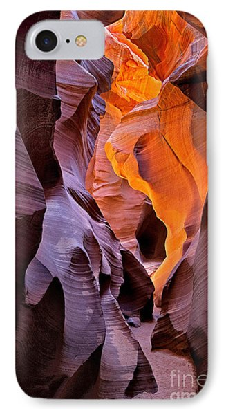 IPhone Case featuring the photograph Lower Antelope Glow by Jerry Fornarotto