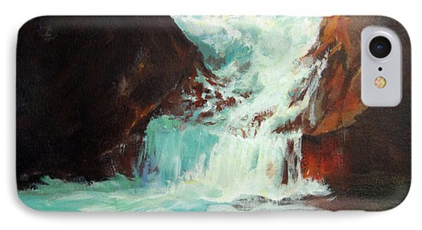 Lower Chasm Falls IPhone Case by Carol Hart