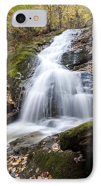 Lower Crabtree Falls IPhone Case by David Cote