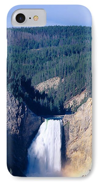 Lower Falls At Grand Canyon IPhone Case by Panoramic Images