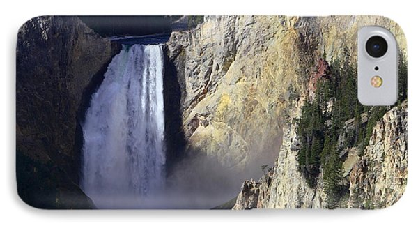 IPhone Case featuring the photograph Lower Falls by David Andersen