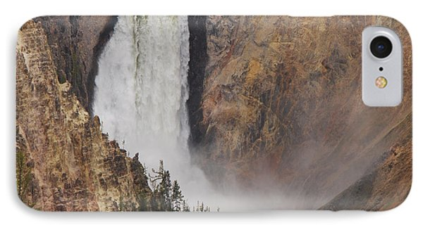 Lower Falls - Yellowstone IPhone Case by Mary Carol Story