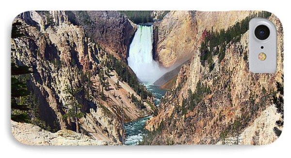 Lower Falls Yellowstone Phone Case by Teresa Zieba