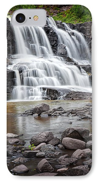Lower Gooseberry Falls IPhone Case by Randall Nyhof