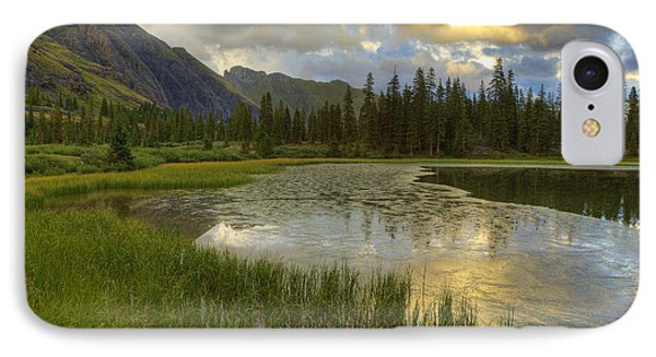 IPhone Case featuring the photograph Lower Ice Lake by Alan Vance Ley