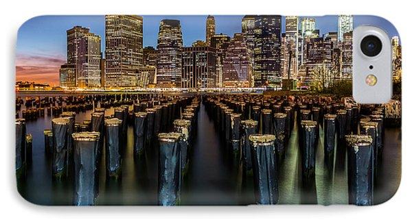 Lower Manhattan IPhone Case by Mihai Andritoiu