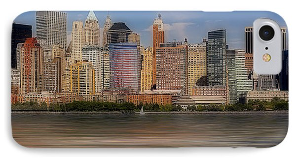 Lower Manhattan IPhone Case
