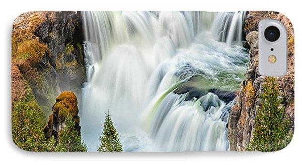 Lower Mesa Falls IPhone Case by Joan Herwig