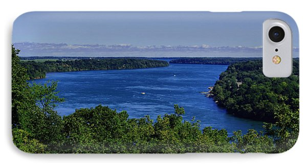 Lower Niagara River IPhone Case by Nicky Jameson